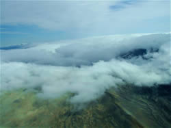 Flying In Can Be Exciting - Eye of Aniakchak Volcano - ALASKA RAFT CONNECTION