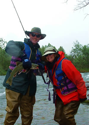 Trophy Char in June - American Creek, Katmai National Park - ALASKA RAFT CONNECTION
