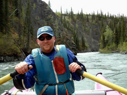 Brian's Happy Smiles on the Happy River - ALASKA RAFT CONNECTION