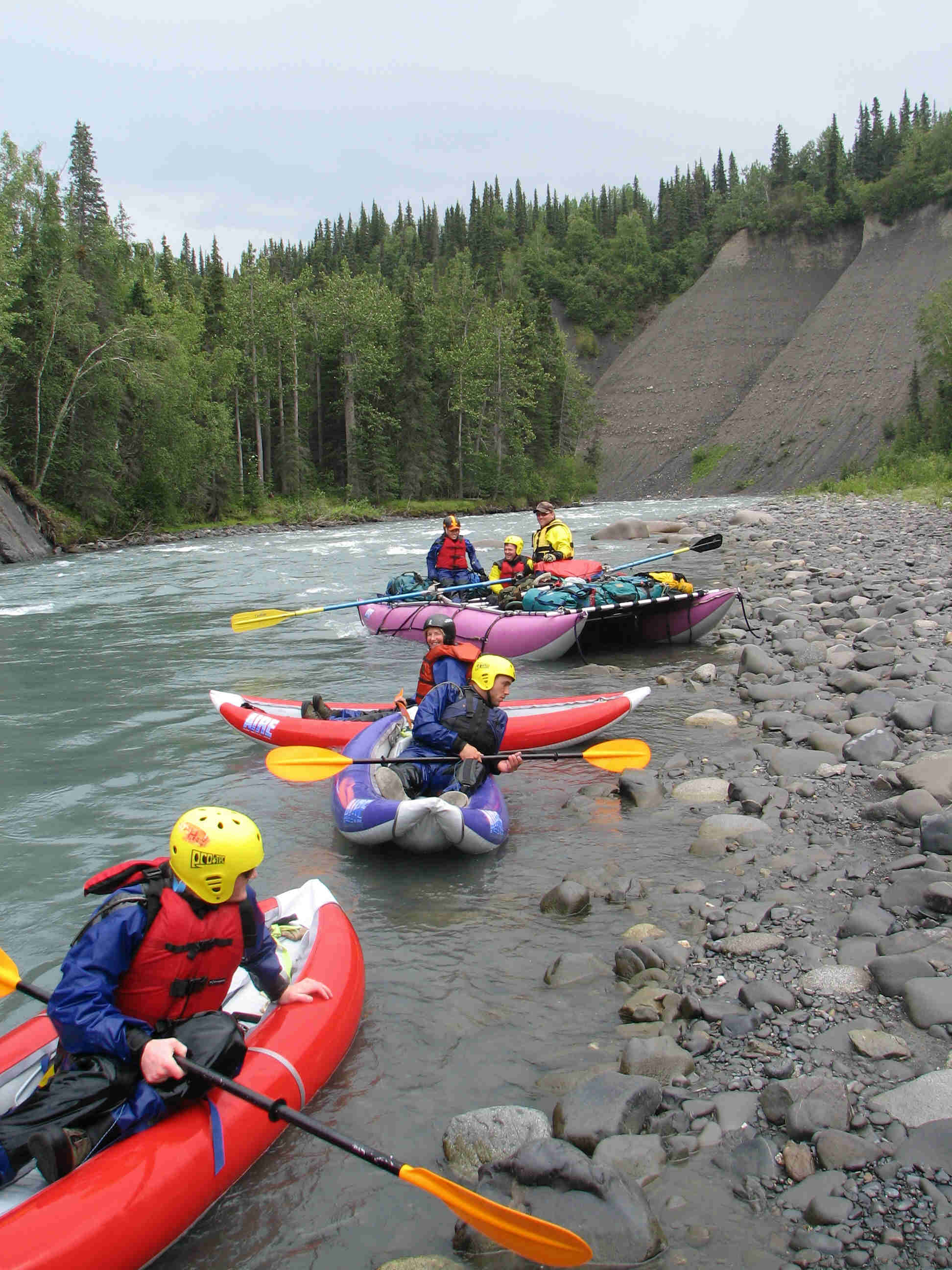 ALASKA RAFT CONNECTION'S FLOAT TRIP ADVANTAGE - WHY CHOOSE US? - ALASKA RAFT CONNECTION