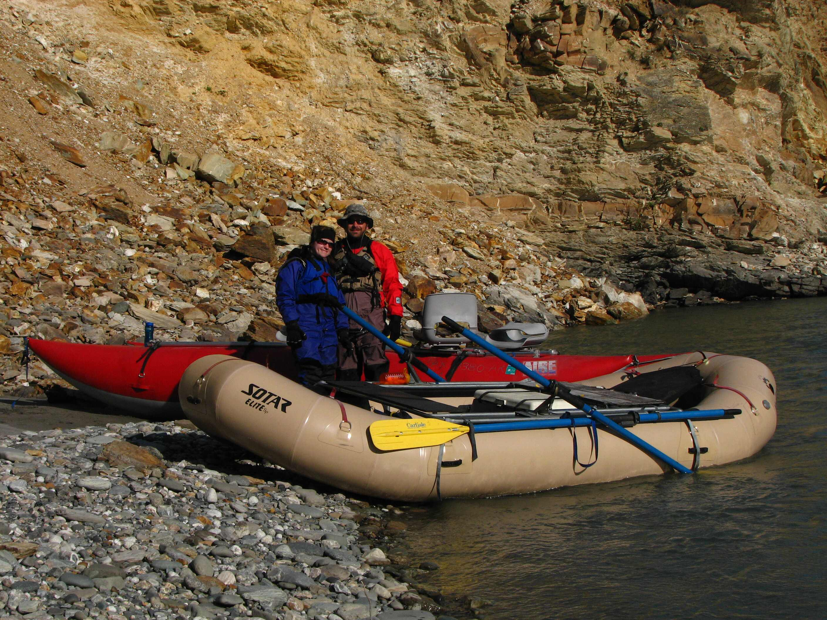 14' SOTAR SP ELITE with 18' AIRE LEOPARD - NENANA CANYON WHITEWATER
