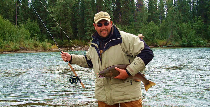 Nice Chilikadrotna Coho Silver Salon - Fly-Fishing Silvers is Spectacular in Fall - ALASKARAFT CONNECTION