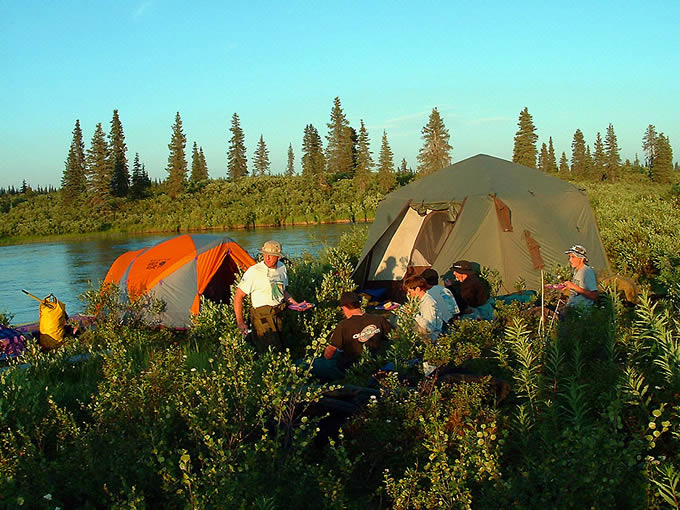 EXCEPTIONAL CAMPING ACCOMMODATIONS - ALASKA RAFT CONNECTION